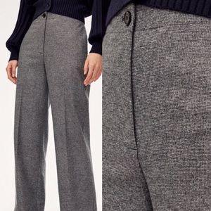 Aritzia Wilfred Madelon Tweed Crop Trouser